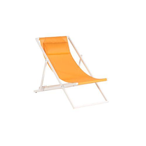 Exotan strandstoel Beach oranje