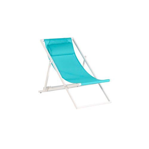 Exotan strandstoel Beach blauw