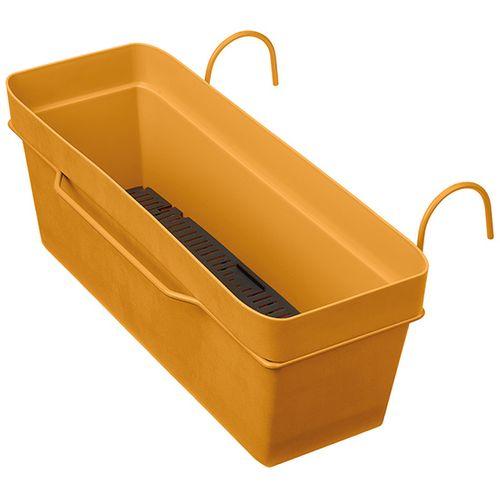 Deroma balkonbak oranje waterreserve 49cm