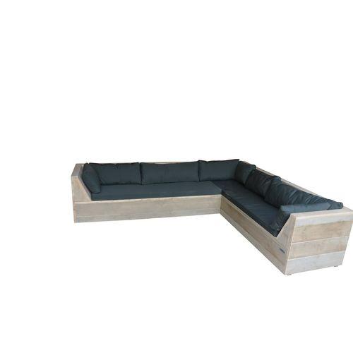 Wood4you loungebank Six Steigerhout 220x200x70cm