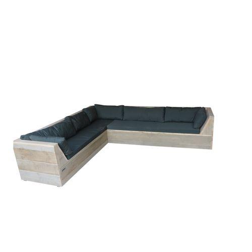 Wood4you loungebank Six Steigerhout 200x220x70cm