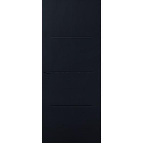 CanDo Capital binnendeur Carson zwart opdek rechts 93x231.5 cm