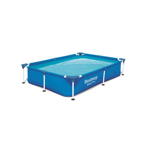 Bestway opzetzwembad Steel Pro rechthoek 221x150cm