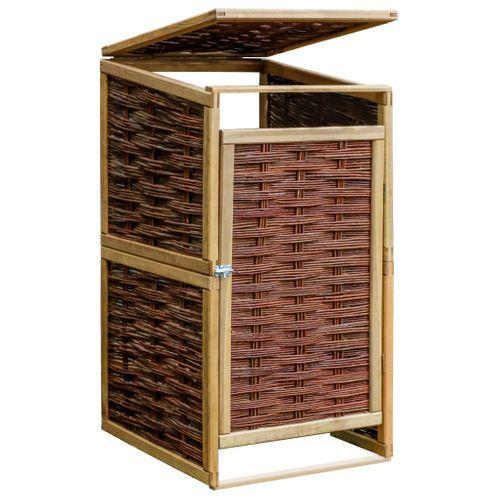 VidaXL containerberging enkel 240L hout