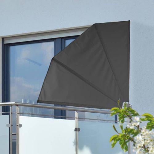 VidaXL HI balkonscherm 12x12m polyester zwart