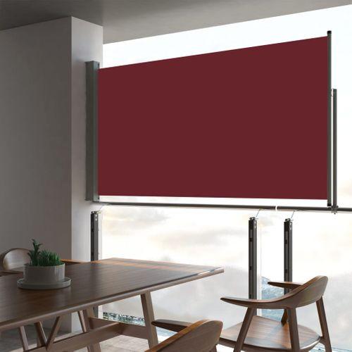 VidaXL tuinscherm uittrekbaar 160x300cm rood