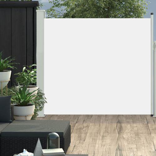 VidaXL tuinscherm uittrekbaar 170x300cm crème