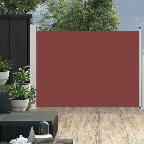 VidaXL tuinscherm uittrekbaar 100x500cm bruin