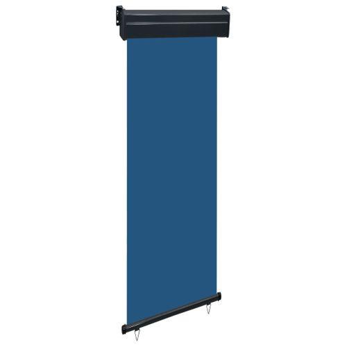 VidaXL balkonscherm 60x250cm blauw