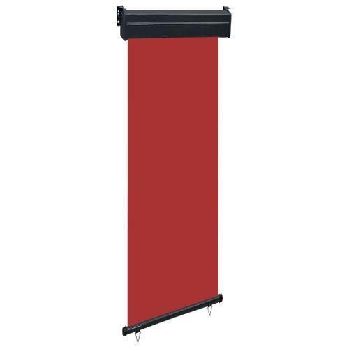 VidaXL balkonscherm 60x250cm rood
