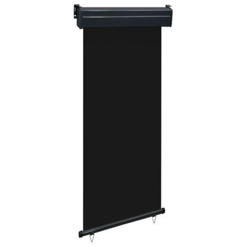 VidaXL balkonscherm 80x250cm zwart