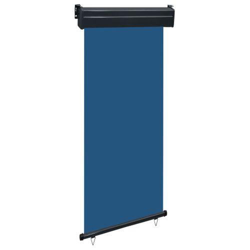 VidaXL balkonscherm 80x250 cm blauw
