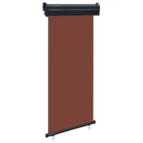 VidaXL balkonscherm 80x250 cm bruin