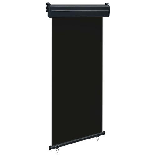 VidaXL balkonscherm 100x250 cm zwart