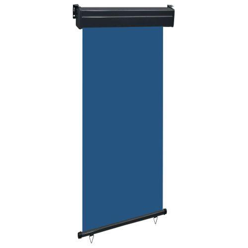 VidaXL balkonscherm 100x250 cm blauw