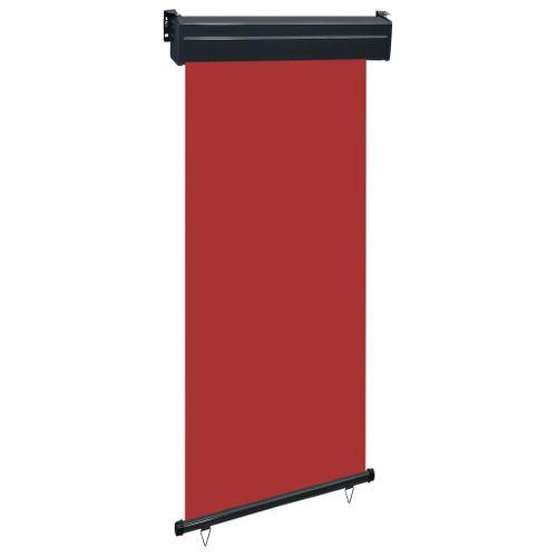 VidaXL balkonscherm 100x250 cm rood