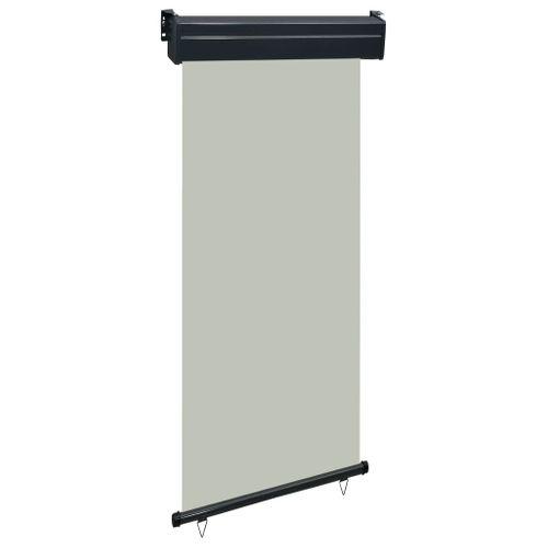 VidaXL balkonscherm 100x250 cm grijs