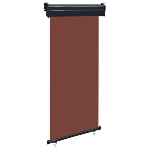 VidaXL balkonscherm 100x250 cm bruin