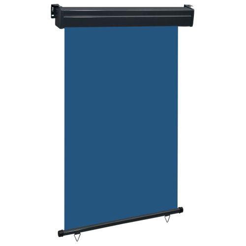 VidaXL balkonscherm 120x250 cm blauw