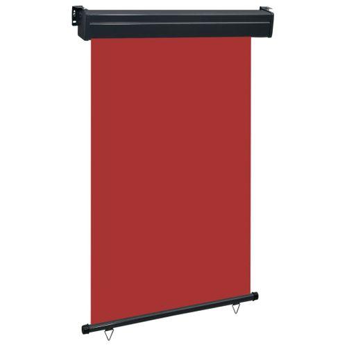 VidaXL balkonscherm 120x250 cm rood