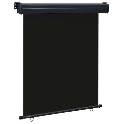 VidaXL balkonscherm 140x250 cm zwart
