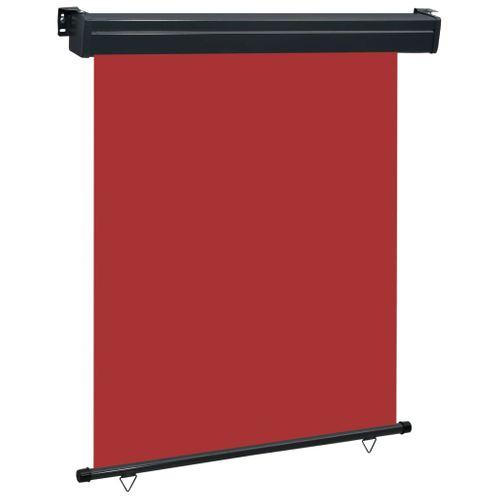 VidaXL balkonscherm 140x250 cm rood