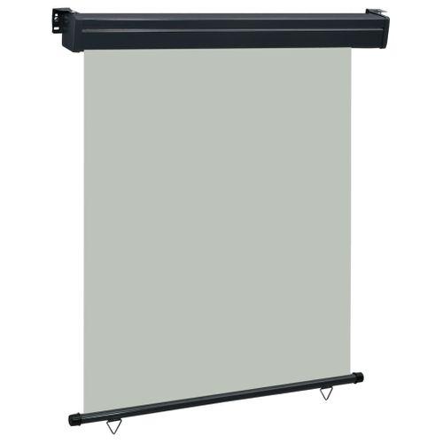 VidaXL balkonscherm 140x250 cm grijs