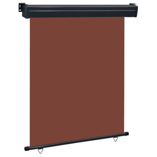 VidaXL balkonscherm 140x250 cm bruin