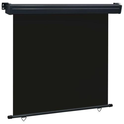 VidaXL balkonscherm 160x250 cm zwart