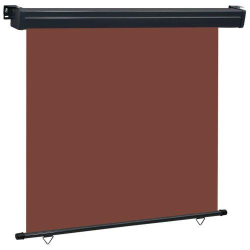 VidaXL balkonscherm 160x250 cm bruin