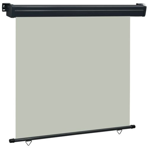 VidaXL balkonscherm 170x250 cm grijs