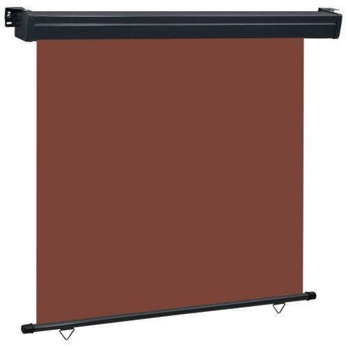 VidaXL balkonscherm 170x250 cm bruin