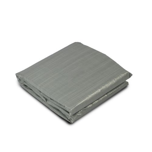EXIT opzetzwembad grondzeil 500x500cm grijs