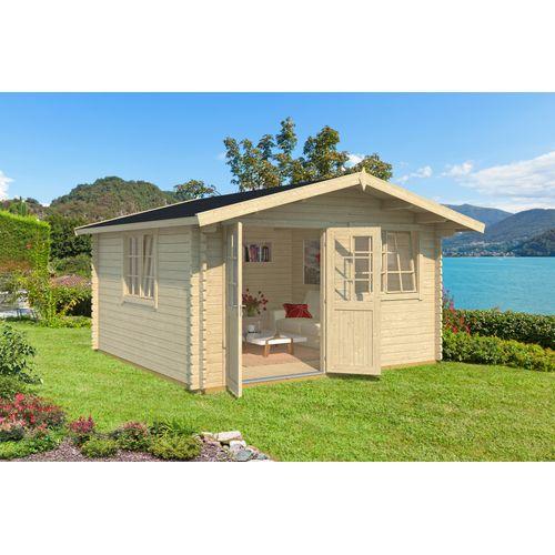 Weka tuinhuis 401 GR2 390x390cm