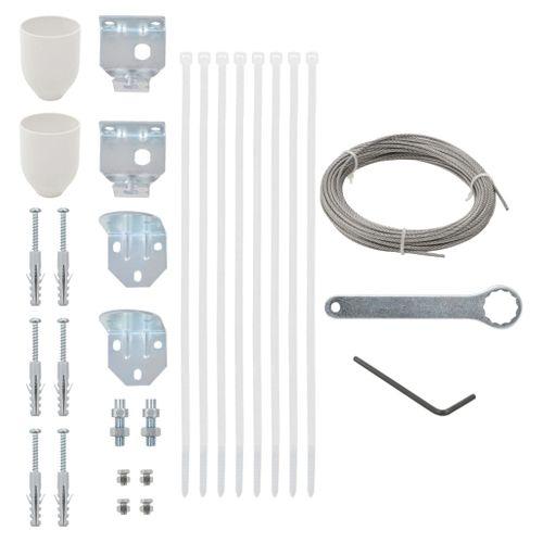 VidaXL balkonscherm accessoireset 29 delig