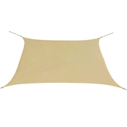 VidaXL zonnescherm oxfordtextiel vierkant 2x2 m beige