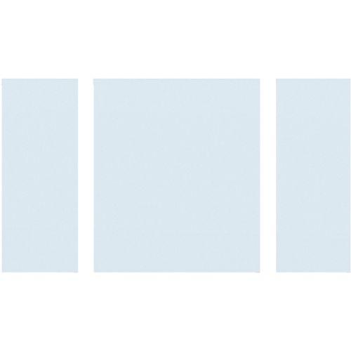 CanDo blank glas Dimension Cardiff 201,5 / 211,5x78cm