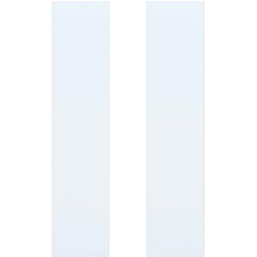 CanDo isolatieruit blank ML 660 of ML 665 201,5/211,5 x 83cm 2 stuks