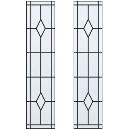CanDo glas-in-lood Berlijn ML 660 of ML 665 201,5 I 211,5 x 83cm 2 stuks