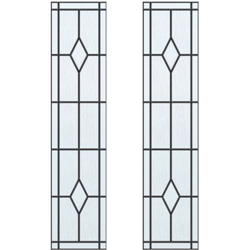 CanDo glas-in-lood Berlijn ML 660 of ML 665 201,5 I 211,5 x 88cm 2 stuks