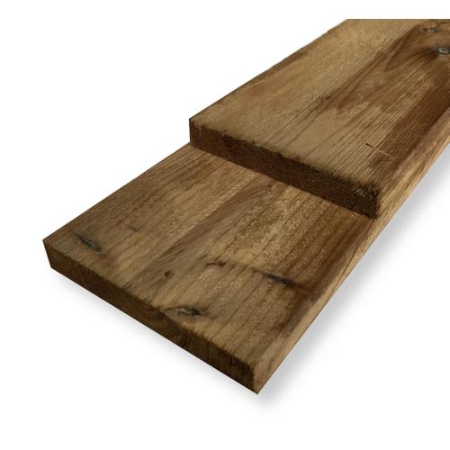 Schuttingplank grenen 17x15x240cm