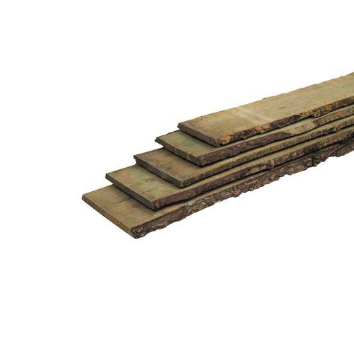 Schuttingplank schaaldeel grenen 19x18x250cm