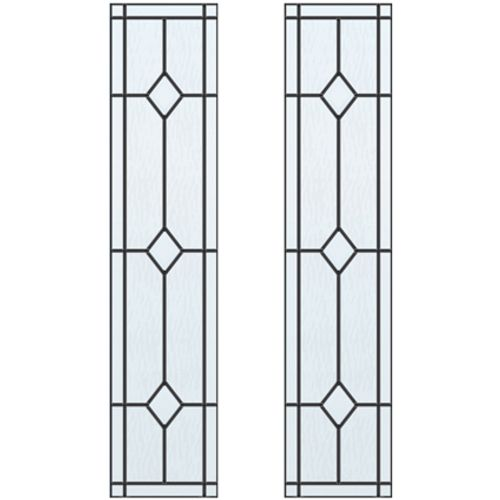 CanDo glas-in-lood Jewel ML 697 201,5 I 211,5 x 88cm 2 stuks