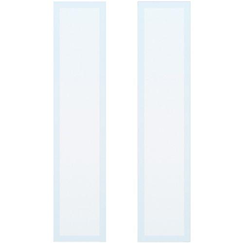 CanDo isolatieglas mat block ML 697 201,5/211,5 x 83cm 2 stuks