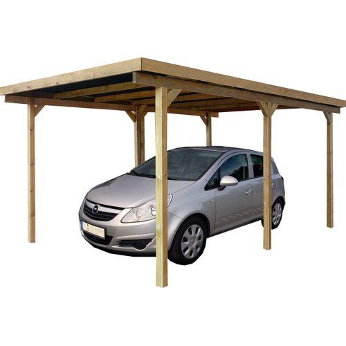 Solid carport S711 15m²