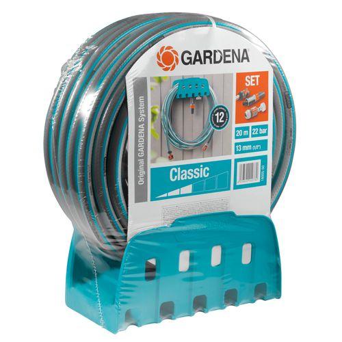 Gardena wandslanghouderset met tuinslang 20m