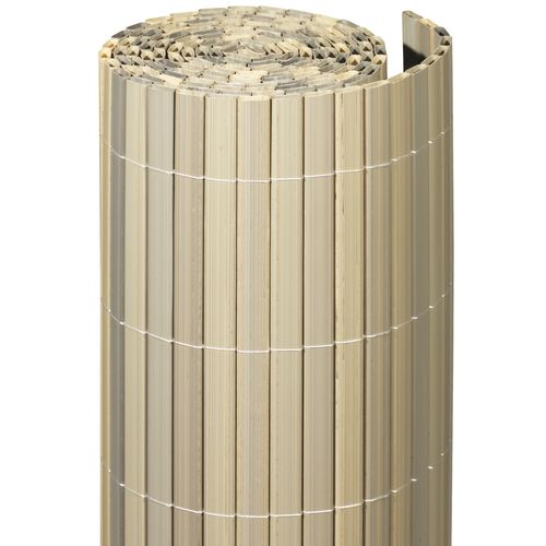 Videx balkonscherm Irish kunststof grijs 90x300cm