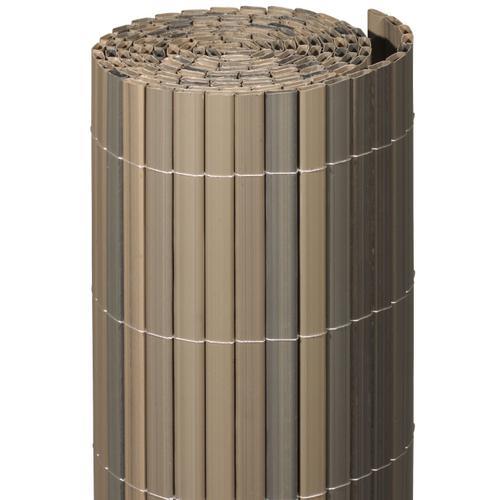 Videx balkonscherm Stone kunststof grijs 90x300cm