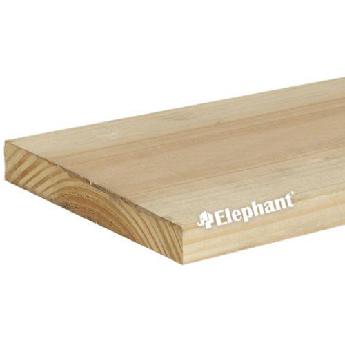 Elephant schuttingplank gezaagd douglas 19x250cm