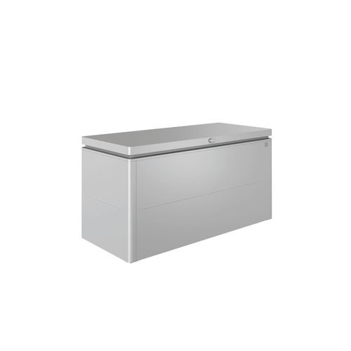 Biohort kussenbox Lounge 160 zilver 70x160cm